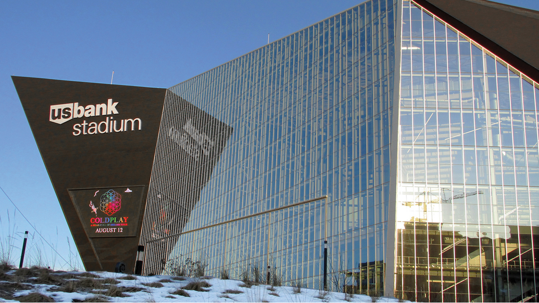 Case study: U.S. Bank Stadium, Home of the NFL's Minnesota Vikings