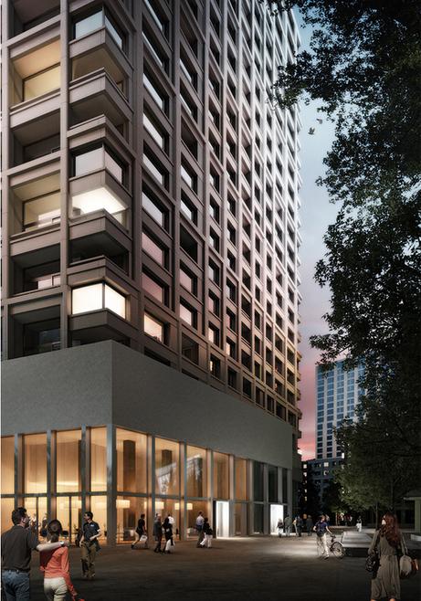 Case Study: Zölly High-rise Residential Building