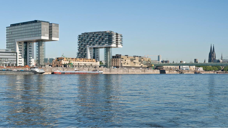 The Kranhaus of Cologne