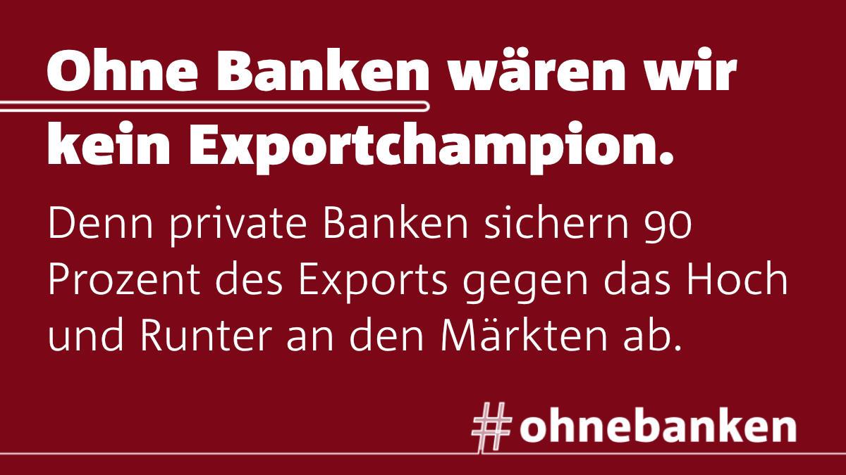 ohnebanken kein Exportchampion